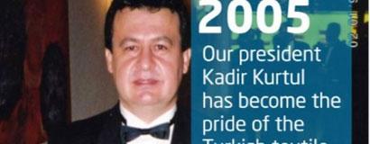 Pride award to Kurtul from England