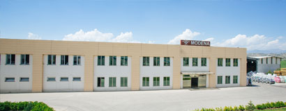 Modena woven fabric plant was put into use.