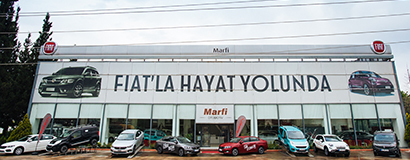 ISKUR started to FIAT dealer as Marfi automotive.